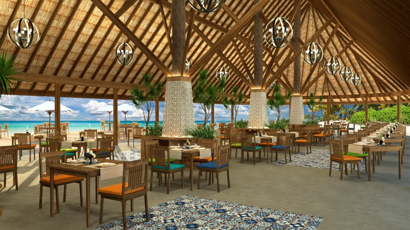 artists impression main restaurant interior
