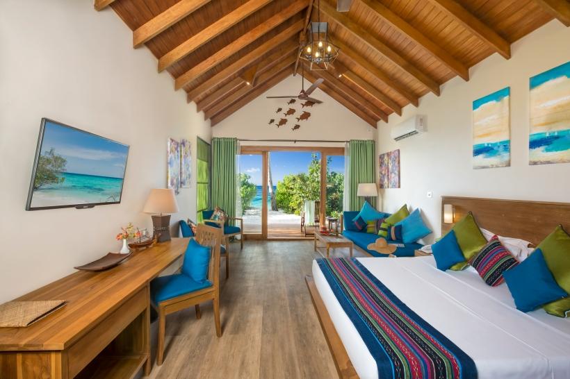 Deluxe Beach Villa interior 1