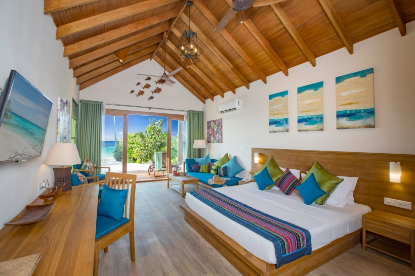 Deluxe Beach Villa interior 2