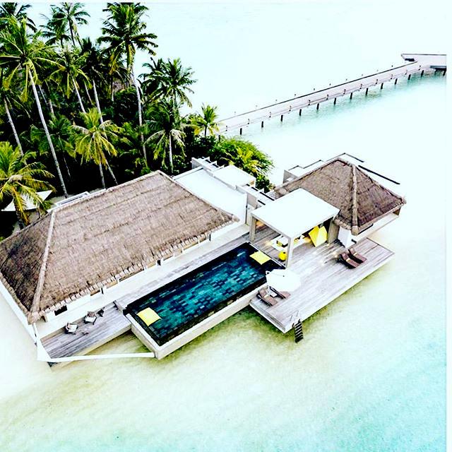 island villa exterior