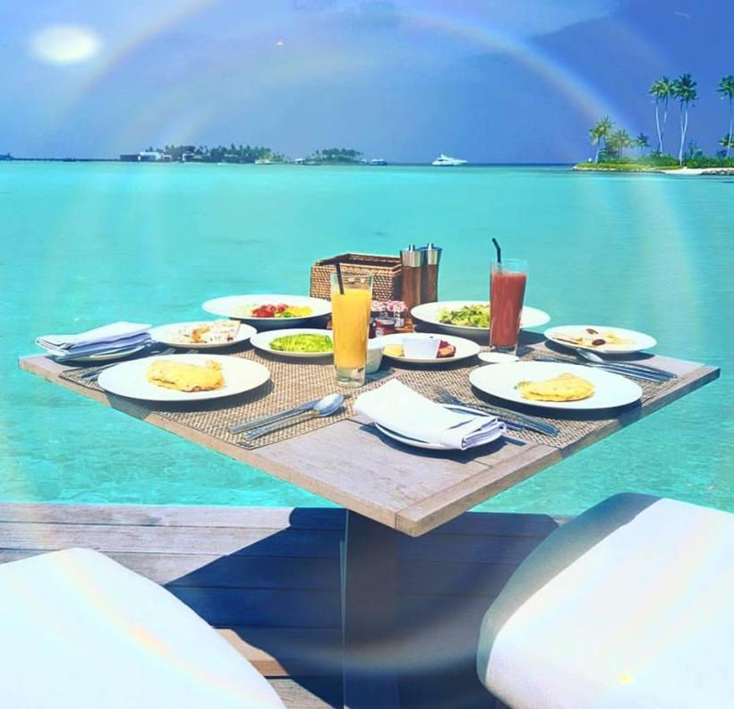 table breakfast