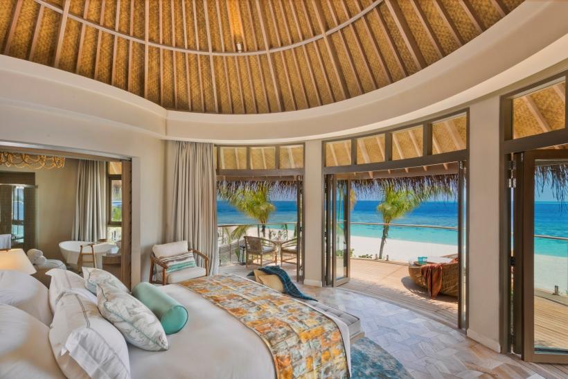 The Nautilus Maldives Beach Residence (9) upstairs bedroom r1920