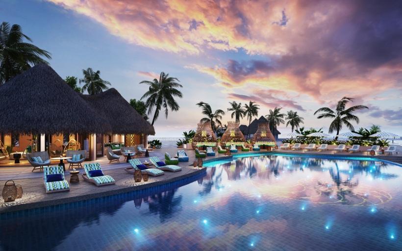 The Nautilus Maldives rendering pool r1920